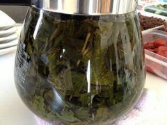 中国茶の冷やし茶漬け2
